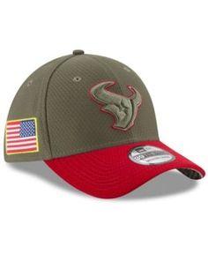 New Era Houston Texans Salute To Service 39THIRTY Cap - Brown M/L