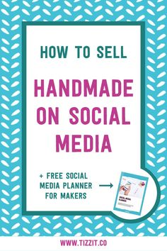 Selling handmade on social media can feel awkard and yuck... but it doesn't have to be. Learn how to sell your handmade products on social successfully.