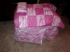 American girl doll bed from tote