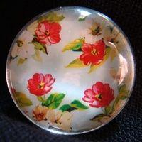 summer flower brooch