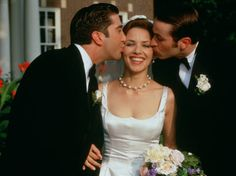 kissing a fool wedding | Mili Avital on AllMovie