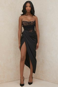 Glamouröse Outfits, Classy Outfits, Fashion Outfits, Gala Dresses, Event Dresses, Formal Dresses, Looks Chic, Classy Dress, Dream Dress