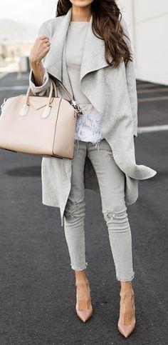 sweater wrap coat