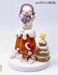 Cake Wrecks - Sunday Sweets: Christmas Cheer! Such cute Christmas cakes!