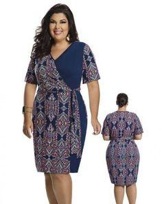 31 Ideas For Moda Jovem Feminina Plus Size - Fashion Vestidos Plus Size, Plus Size Dresses, Plus Size Outfits, Plus Size Fashion For Women, Plus Size Women, Casual Dresses, Fashion Dresses, Kitenge, Classy Dress