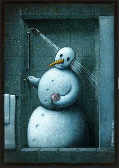Showered Henri Matisse, Satirical Illustrations, Graffiti, Art Academy, Humor Grafico, Canvas Artwork, Zbrush, Caricature, Snowman