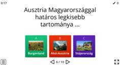 Ausztria – Földrajz 7-8. osztály KVÍZ