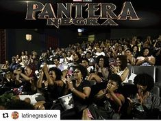 h/t @latinegrasexologist #WakandaForever #Repost @latinegraslove   Dope!  #Brazil   Love this! #mulheresNegras #Note from BW of Brazil: Well judging from the first few days the new Marvel super hero action film Black Panther (released as Pantera Negra in Brazil) looks like its going to be a blockbuster or would that be blackbuster (?) across the country. Today I received a photo from a movie theater in Salvador Bahia in the northeast and a news story from a movie theater in Porto Alegre Rio…