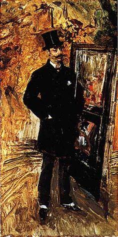 ferrara by Giovanni Boldini Italy) Giovanni Boldini, John Singer Sargent, Italian Painters, Italian Artist, Best Artist, Artist Art, Russian Painting, Edgar Degas, Vintage Artwork