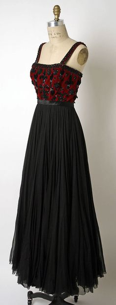 James Galanos Evening dress 1952