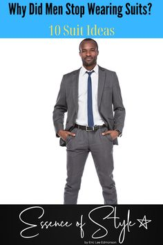Why did men stop wearing suits? Outside of a professional setting, it would be nice to see more men in suits. I have seen some that catch my eye! Business Casual Men, Men Casual, Why Do Men, Urban Looks, Fine Men, Suit Fashion, Men Looks, Mens Clothing Styles, Looking For Women