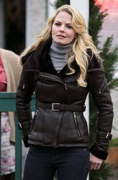 Love this coat! Love her style in Once Upon A Time