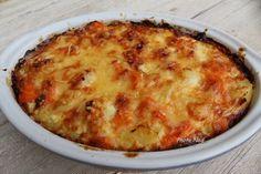 Gratin de Pommes de terre-Carottes au Comté - Mamy Nadine cuisine...