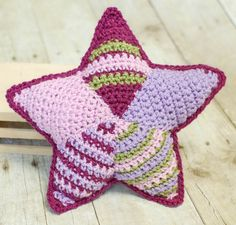 Patchwork star pattern and tutorial ~free crochet patterns~