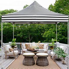Patio Tents, Outdoor Patio Umbrellas, Patio Canopy, Patio Gazebo, Canopy Outdoor, Backyard Patio, Outdoor Decor, Backyard Ideas, Backyard Shade