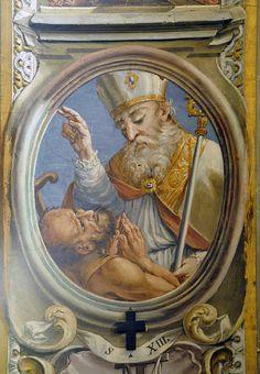 Frescoes in the church of SS. Eusebio and Vittore in Peglio, over Gravedona, Como by renzodionigi, via Flickr