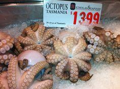 Seafood market Seafood Market, Tasmania, Octopus, Microsoft, Sydney, Paint, Beach, Picture Wall, The Beach