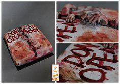 http://www.paintcakes.com  the walking dead, TWD, zombie, cake, cakes, birthday cake, gateau d'anniversaire, geek, nerd, livraison, paris, sur mesure, personnalisé,