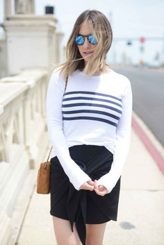 summer sunnies + stripes