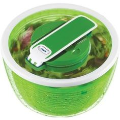 Zyliss Smart Touch Salad Spinner 4-6 Servings, Green - Zyliss Online - via