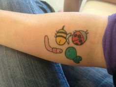 Adventure Girl Quotes You Are Code: 1592103402 Snail Tattoo, Doodle Tattoo, Bee Tattoo, Cute Tattoos, Unique Tattoos, Body Art Tattoos, Tatoos, Adventure Time Tattoo, Sharpie Tattoos