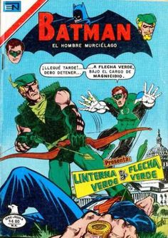 Did Green Arrow shoot the President? (At least he didn't shoot the deputy.) Green Lantern oughta ring his neck!
