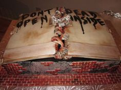 The Walking Dead Cake Ideas | ... reading to see images of the walking dead cake and zombie cake pops