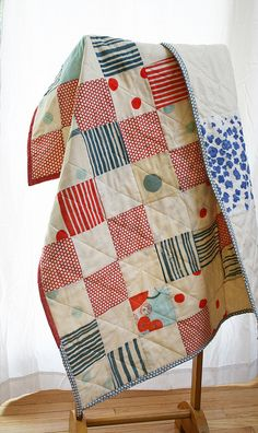 crib quilt | Flickr - Photo Sharing!
