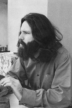 "jimmorrisonproject: ""doorsiana: ""Jim Morrison 1971 "" LA Free Press – Jim was a big supporter """
