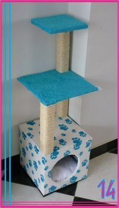 Cat Care Keeping Your Cat Healthy and Your Home Clean Cat House Diy, Diy Cat Tree, Cat Stands, Cat Perch, Cat Hacks, Cat Towers, Cat Playground, Cat Condo, Cat Room