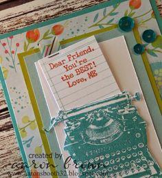 Booth #32: Dear Friend,