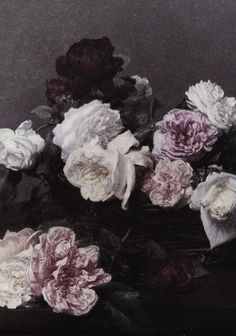 modified from new order's power corruption and lies based on painting by henri fantin-latour, design by peter saville.