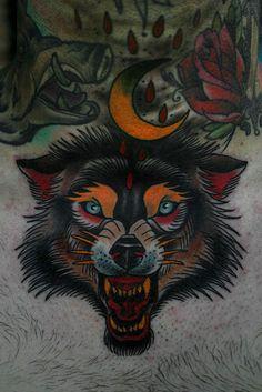 I want a wolf/werewolf so fucking bad!