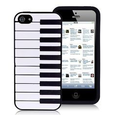 Piano Keyboard iPhone 5 Silicone...