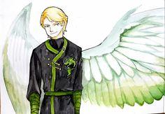 Lloyd with energy wings #Ninjago