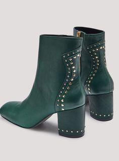Miista Rowen Pina Leather Boots 💚💚💚