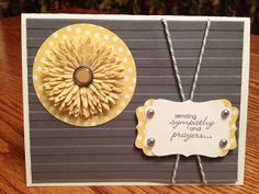Stampin For Fun...Sympathy Card