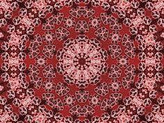 Digital Art - Red Mandala by Jodi DiLiberto