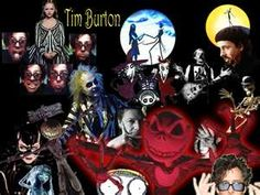Tim burton films, seen and love each one of them!