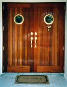 double wooden entrance doors - Google Search