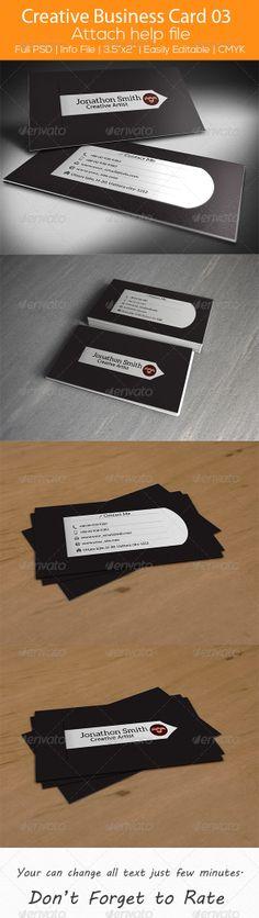 Creative Business Card 03 by SelenaParker.deviantart.com on @deviantART
