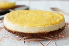 Als je deze lemon curd cheesecake hebt geproefd, wil je nooit meer een andere maken!