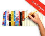 Een handgemaakt schilderij van je 7 favoriete boeken -IdealBookshelf.com