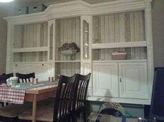 vorher nachher der esszimmerschrank deko und ideen schrank eiche rustikal und m bel. Black Bedroom Furniture Sets. Home Design Ideas
