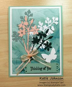 these tall beautiful floral dies ( Meadow Dies by stampinup) are the perfect focal point for a top-folding vertical easel card. With one easy extra score line you create a vertical easel card and Stampin'Up!'s Meadow Dies create a gorgeous vertical focal point. Easy to make fun fold. One Sheet Wonder, Easel Cards, Blog Images, Petunias, Stampin Up, Paper Crafts, Create, Floral, Easy