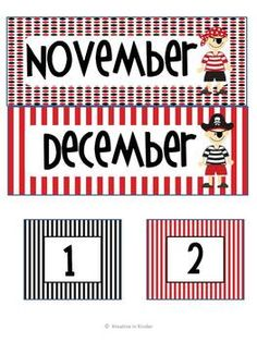 Pirate Theme Classroom Decor Set for the. by Kreative in Kinder School Decorations, School Themes, Classroom Themes, Pirate Decor, Pirate Theme, Teach Like A Pirate, Word Wall Letters, First Grade Sight Words, Teaching Themes