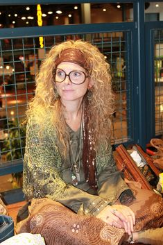 Harry Potter premiere - Professor Trelawney costume | by Célèste of Fashion is Evolution