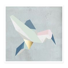 Kami Birdy Poster by KAMI. DESIGN made in Germany on CROWDYHOUSE