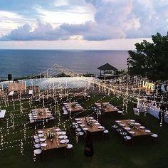 Bali Wedding on The LANE http://thelane.com/style-guide/real-weddings/tropical-backyard-revelry