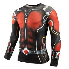 Cody Lundin Impression 3D T-Shirts de Compression pour Hommes T-Shirt de Compression /à Manches Longues pour Hommes